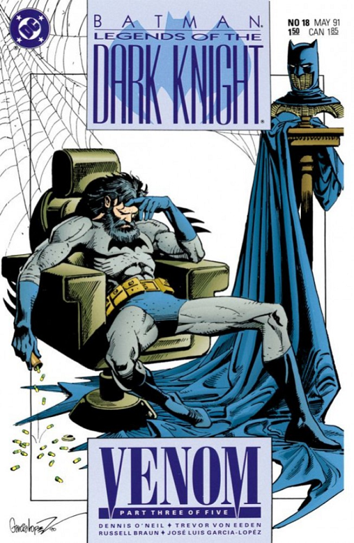 Batman Legends of the Dark Knight #18 by Jose Luis Garcia-Lopez